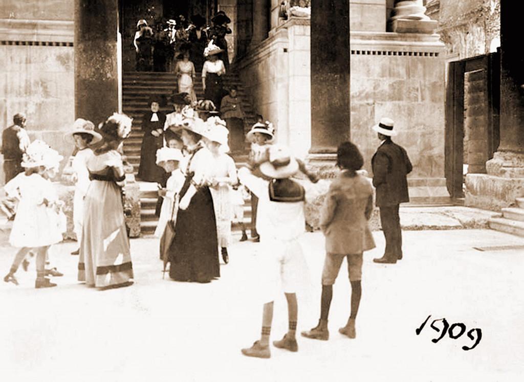 Ka u snu – poslin mise u Svetoga Dujma 1909. godine