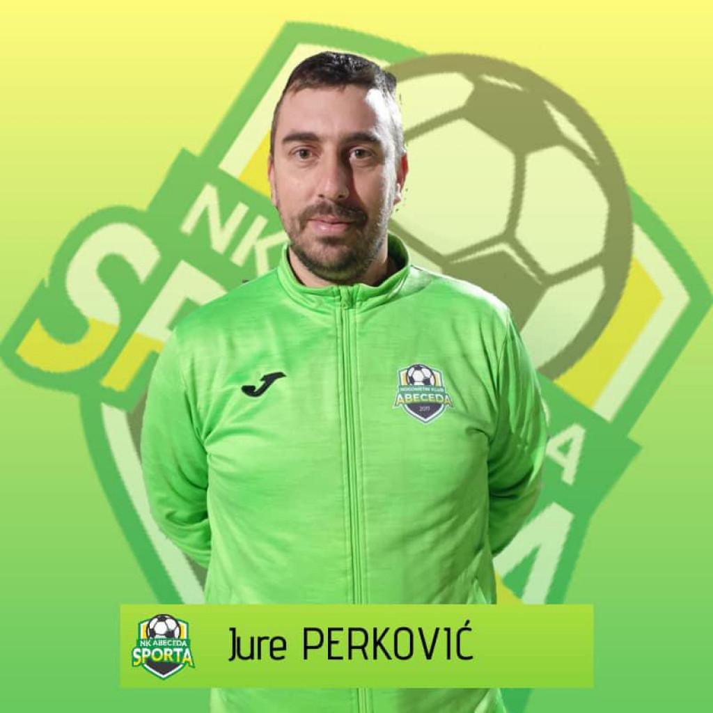 Trener ŽNK Donat Jure Perković