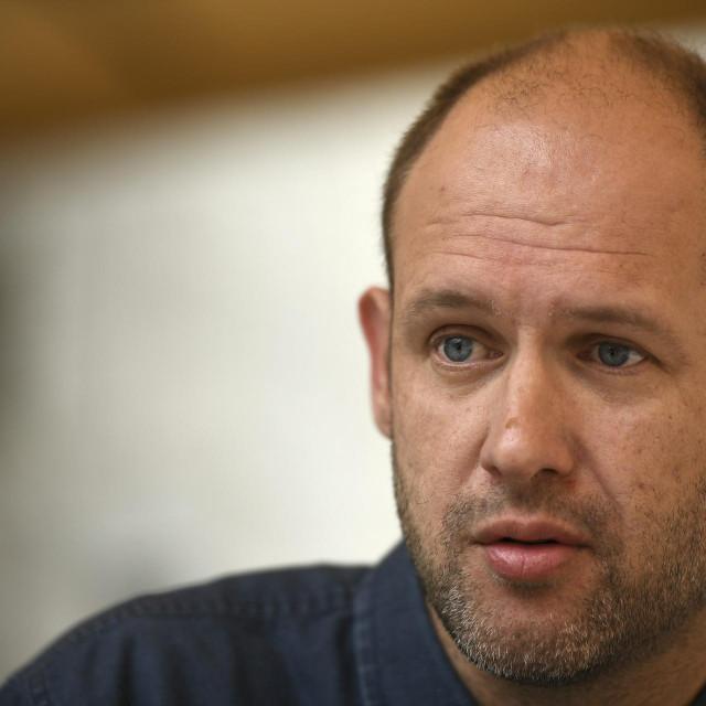 <br /> Ante Storić, dobitnik nagrade Kusin za najbolju pripovjetku.<br />