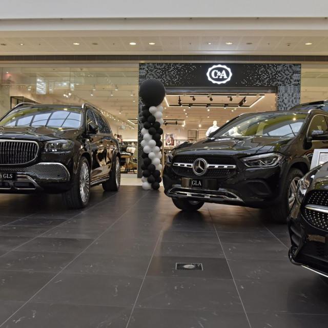Dio Mercedesovih izloženih modela