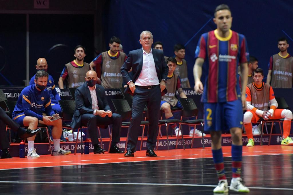 Andreu Plaza - trener Barce.<br />
