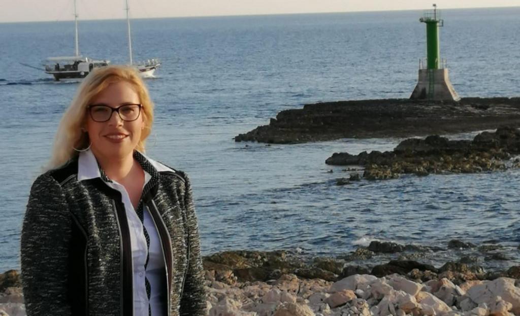 Ivana Lovrić, kandidatkinja je za načelnicu Rogoznice