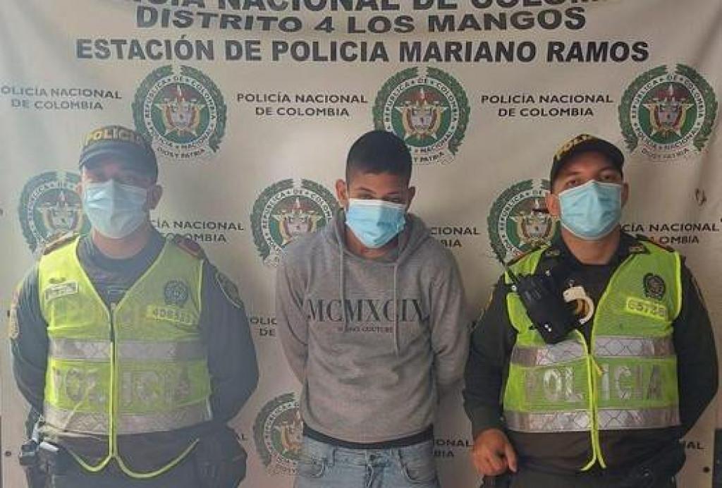 Kolumbijska policija objavila je sliku uhićenog Juana Nieve