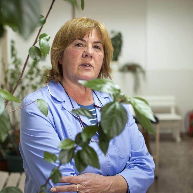 Ljilja Marinović, medicinska sestra, pobrinula se da Slivno bude šampion po procijepljenosti