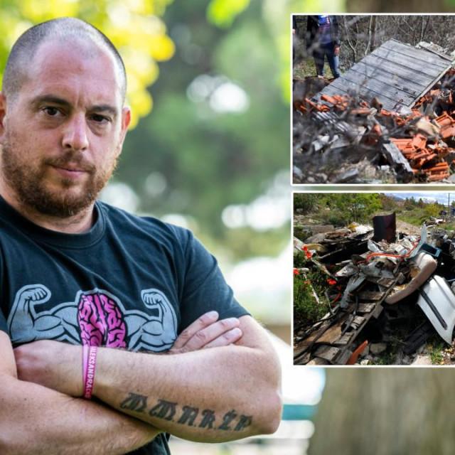 Goran Šimić, neformalni 'zapovjednik' šibenskog odreda za čistoću, nedavno je sa svojom ekipom iz borovine uklonio dva kamiona smeća!