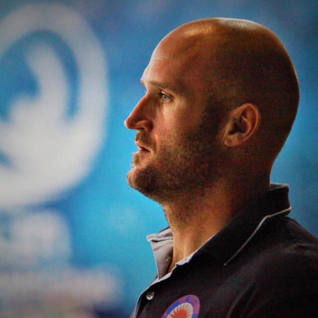 Jure Marelja, trener Solarisa, nekadašnji centar, koji je u karijeri nosio i kapicu Juga