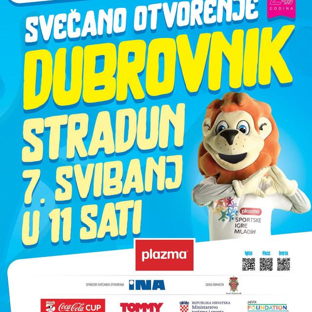 Plakat Plazma Sportskih igara mladih