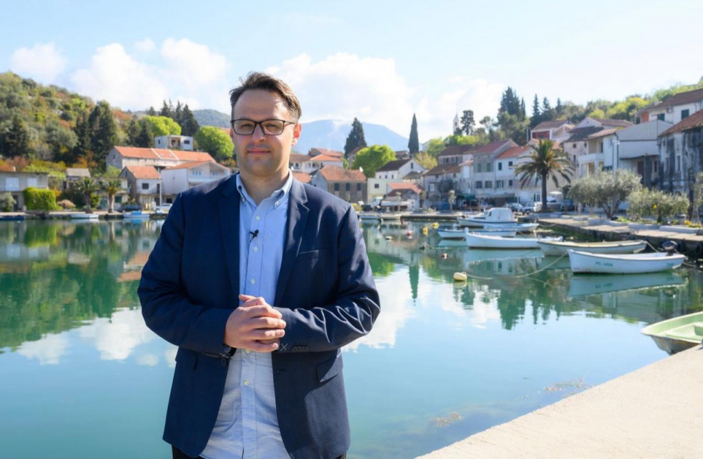 Krešimir Šunjić kandidat za gradonačelnika Ploča<br /> foto: Privatni album
