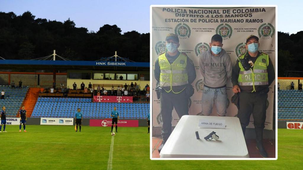 Juan Diego Nieva do ožujka ove godine bio je član HNK Šibenika
