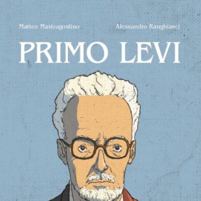 Naslovnica grafičkoga romana o Primu Leviju