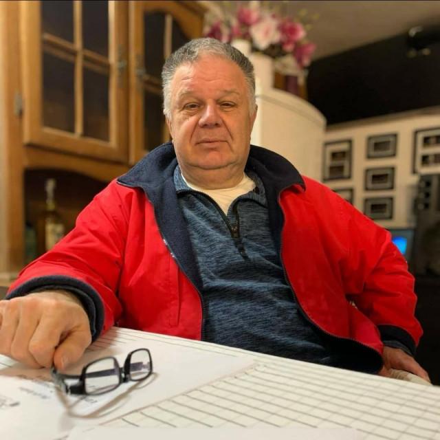 Tomislav Katić, umirovljeni kapetan bojnog broda