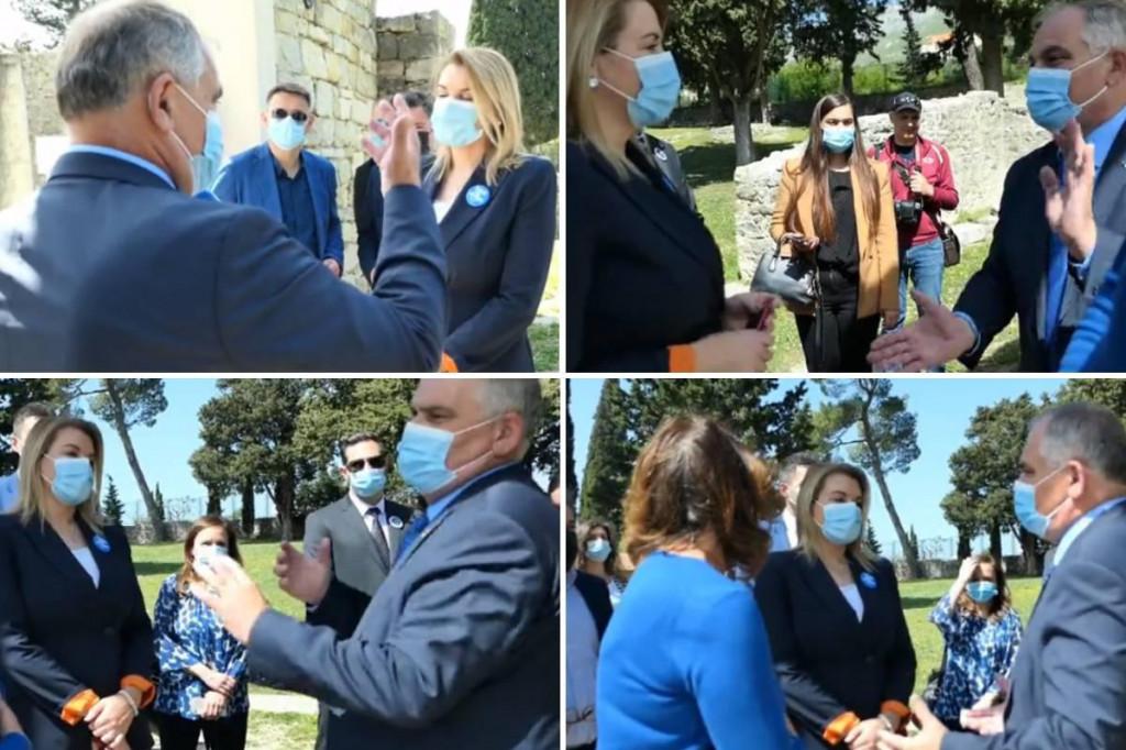 Župan Blaženko Boban s ministricom turizma Nikolinom Brnjac