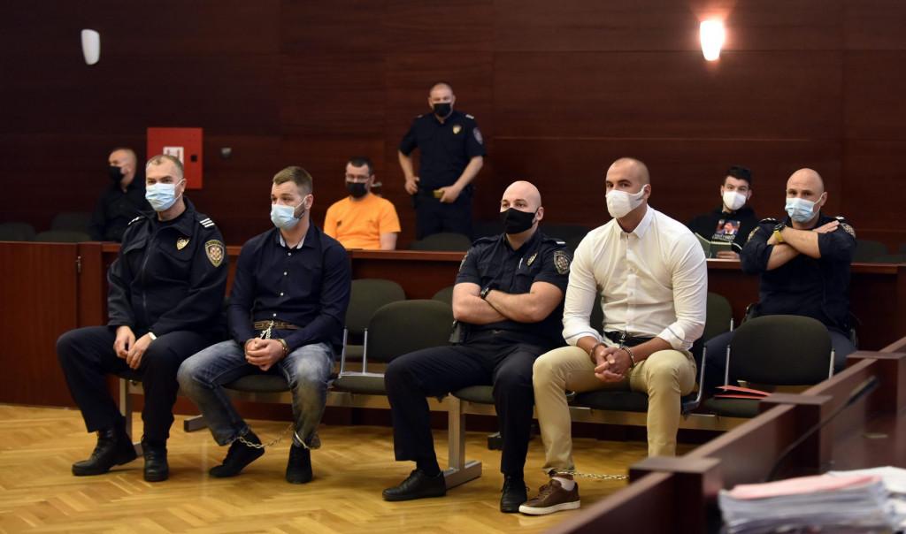 Okrivljeni Josip Šuker i Ivan Radović u sudnici
