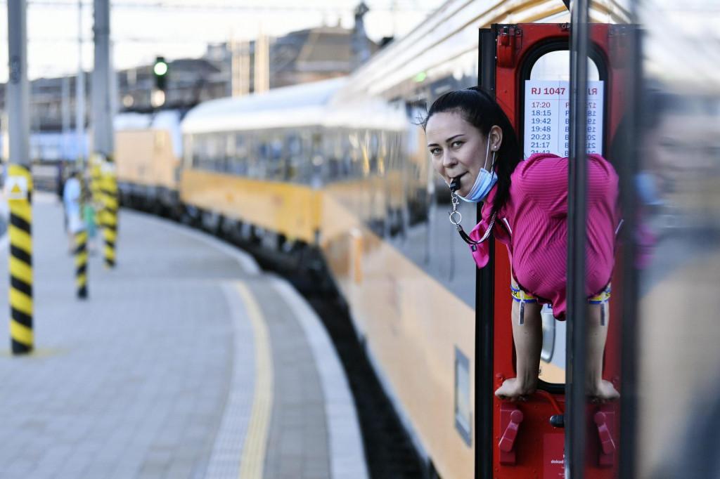 Vlak češke kompanije RegioJet na liniji Prag - Rijeka