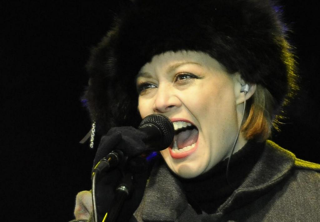 Jadranka Bastajić Yaya kao pjevačica Jinxa 2011. godine