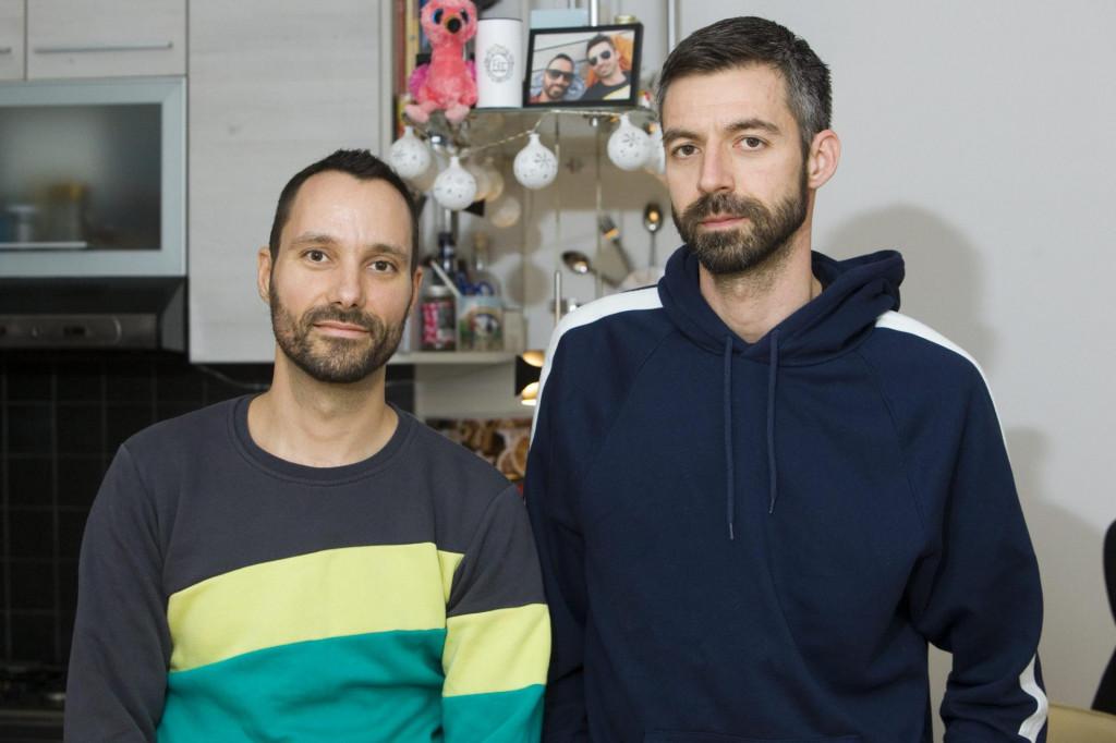 Na fotografiji: Mladen Kožić i Ivo Šegota<br />