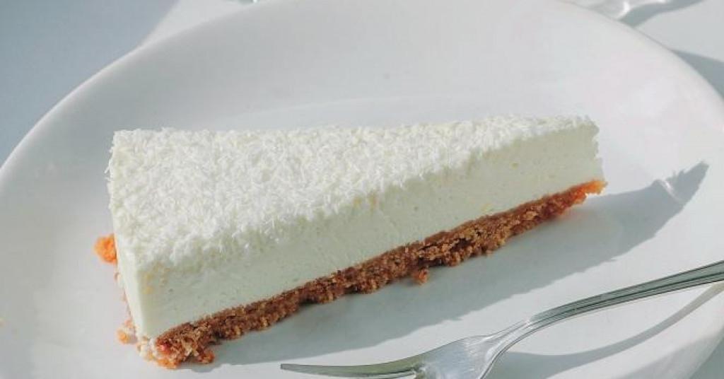 Cheesecake s limunom i kokosom
