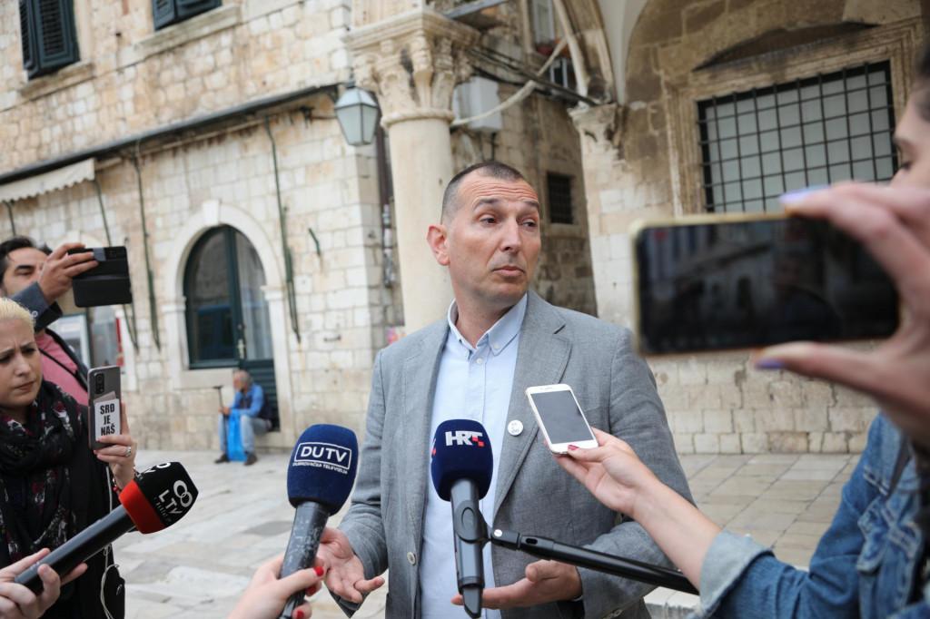 Kandidat za gradonačelnika Dubrovnika Đuro Capor- Srđ je grad