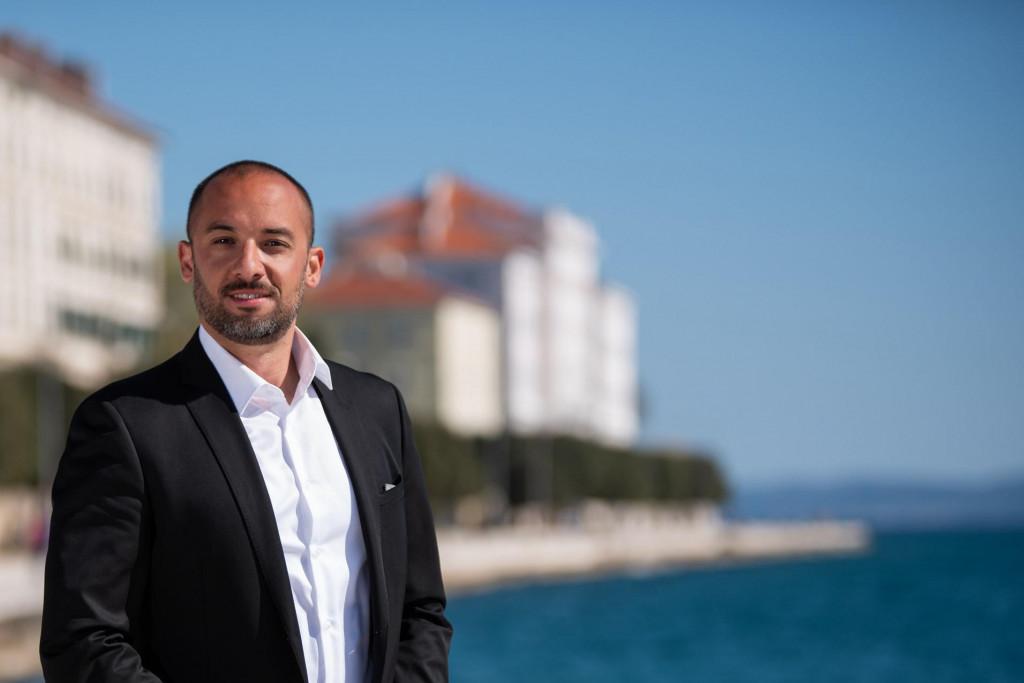 Antonio Vučetić. kandidat za župana Zadarske županije