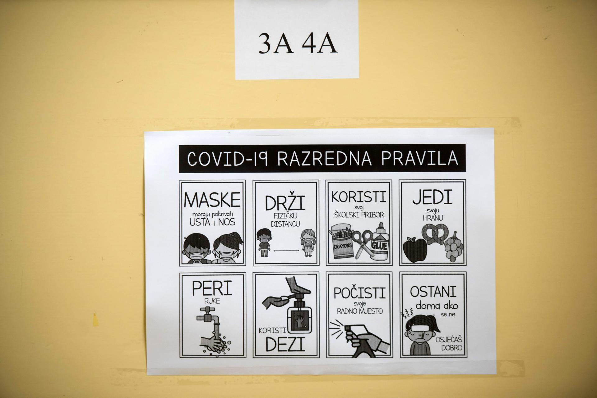 Zbog stabilne epodemiološke slike: nastava u svim školama na području Zadarske županije od ponedjeljka se održava po modelu A