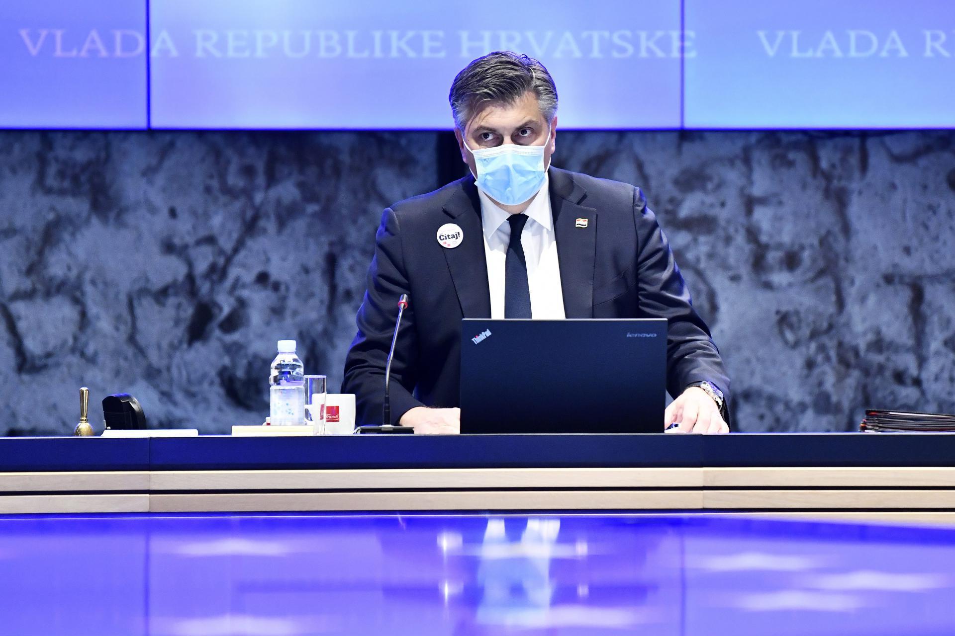 Uskoro obraćanje premijera Plenkovića na sjednici Vlade: govorit će se o najnovijim informacijama vezanim za koronavirus, ovo su teme