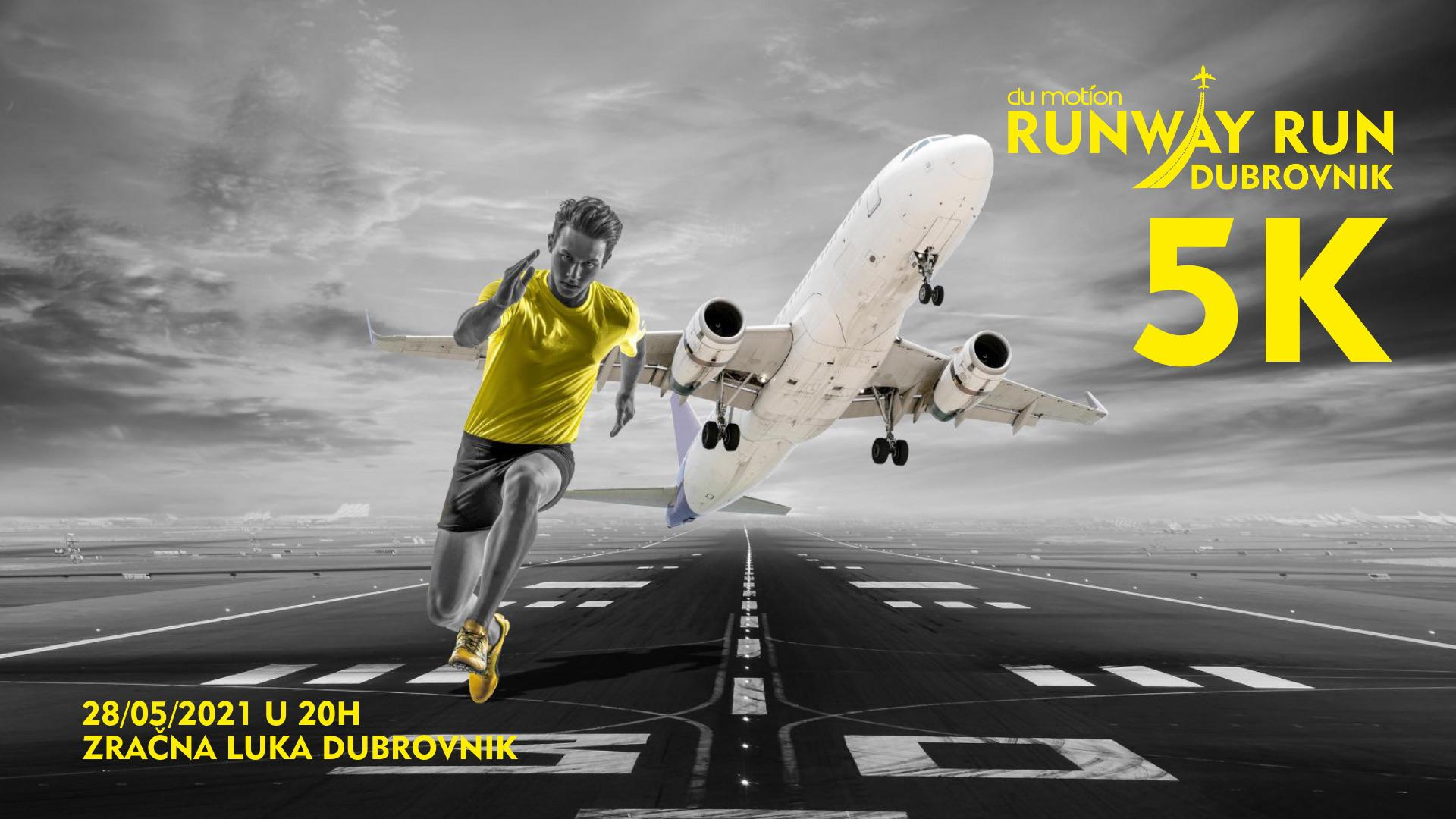 TRČANJE SE VRAĆA U DUBROVNIK: Du Motion organizira utrku na dubrovačkom aerodromu