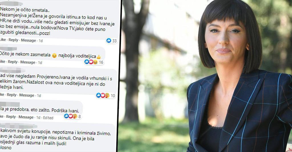Bijesni gledatelji Provjerenog zasuli porukama Novu TV zbog odlaska Ivane Paradžiković: oglasila se ekipa emisije