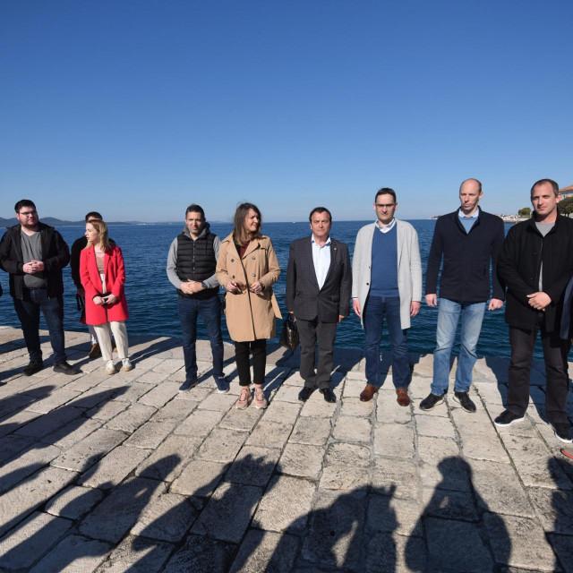 Članovi koalicije Srce za Zadar