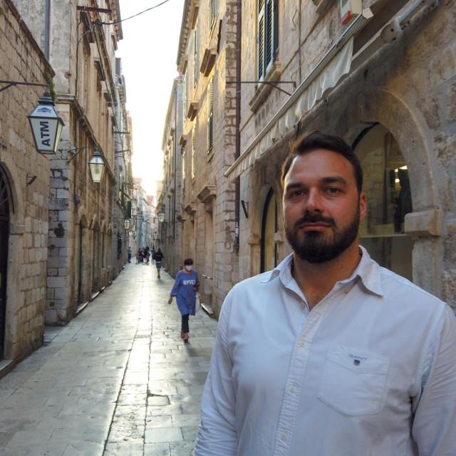 kandidat za gradonačelnika SDP-a Ivan Tropan obišao je povijesnu jezgru