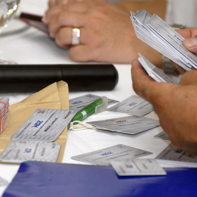 U Dubrovačko-neretvanskoj županiji najviše je građana s članskom iskaznicom HDZ-a