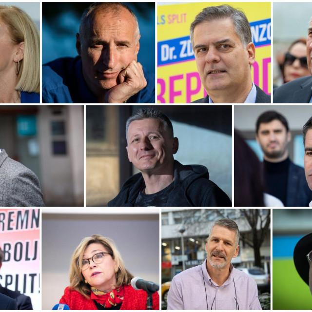 Kandidati za splitskog poteštata ulaze u dramatičnu završnicu kampanje