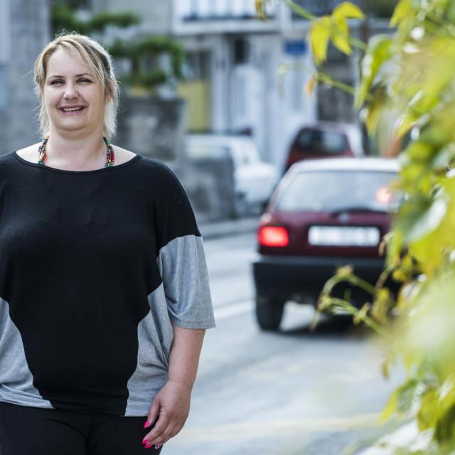Marijana Rajić, predsjednica udruge Aurora koja skrbi o osobama s cerebralnom paralizom i ostalim oblicima tjelesnog invaliditeta<br />