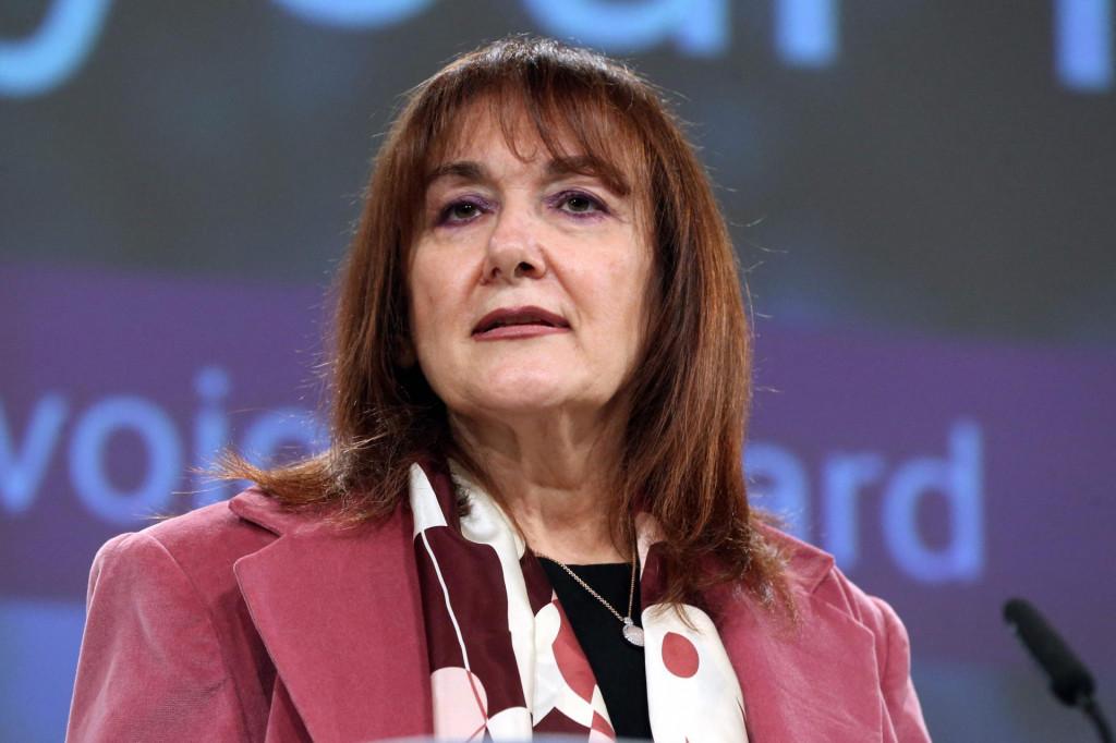 Potpredsjednica Europske komisije za demokraciju i demografiju Dubravka Šuica