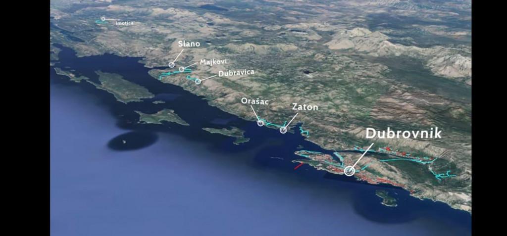 projekt Aglomeracije Dubrovnik ne uključuje odvodnju Kalamote