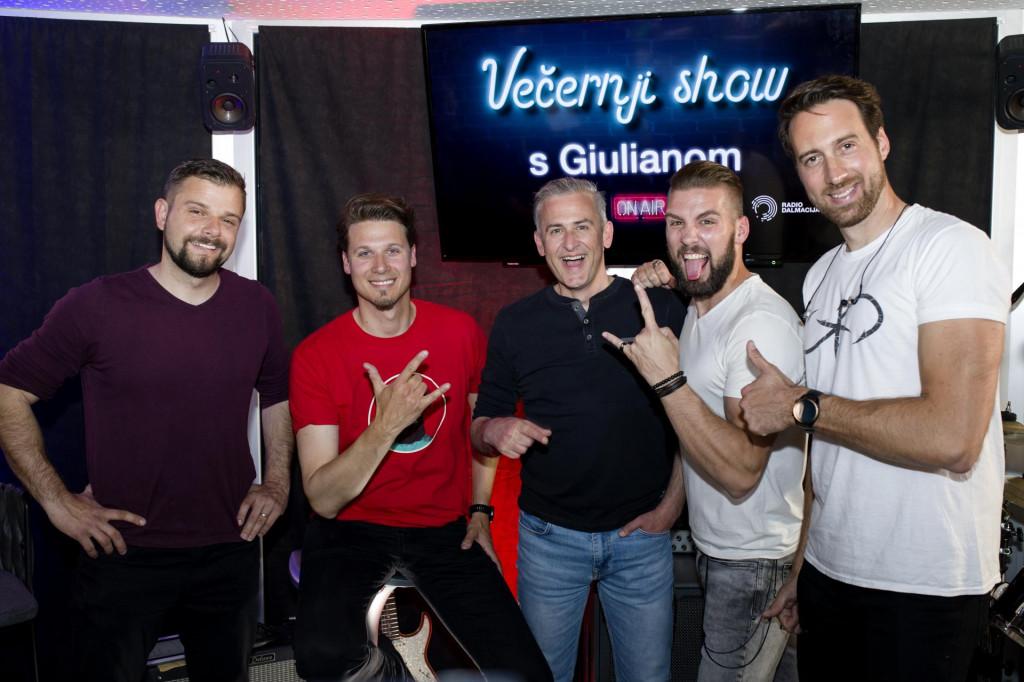 Giuliano s Cambijevcima: uz rock zvuk Majki, ni on nije mogao odoljeti da ne pusti glas