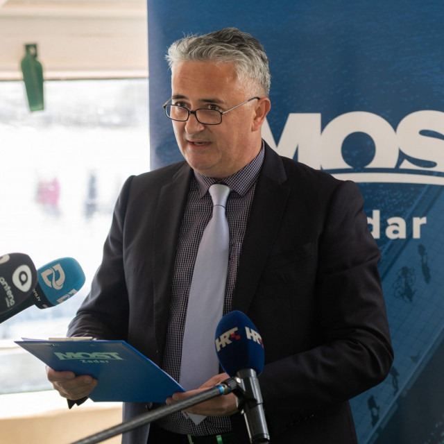 Kandidat za zadarskog župana Đani Bunja