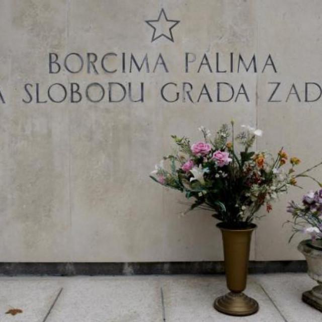 Spomenik antifašistima na zadarskom groblju