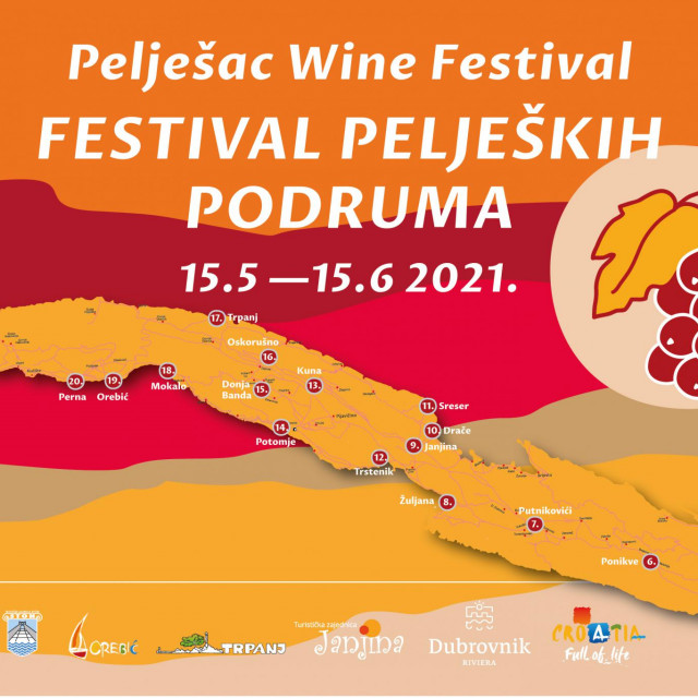 Doživite Pelješac u novoj eno-gasto manifestaciji –Festival peljeških podruma!