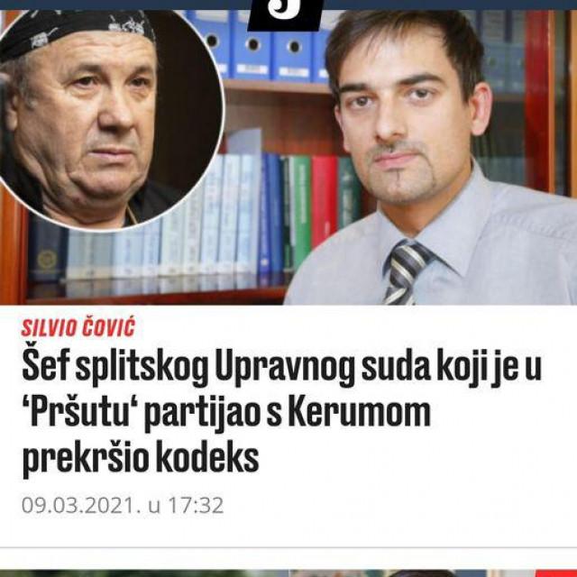 Obajava Mata Frankovića na FB profilu