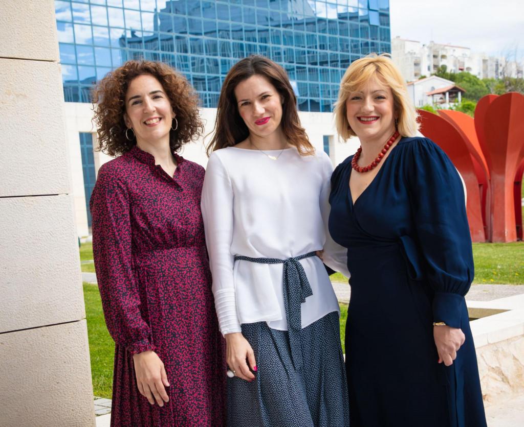 Sandra Pepur, Ivana Bulog i Ana Rimac Smiljanić