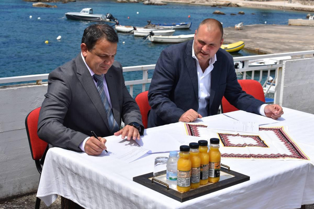 Potpisan 8,6 milijuna kuna vrijedan ugovor za izgradnju pročistača otpadnih voda i podmorskog ispusta u Moluntu!