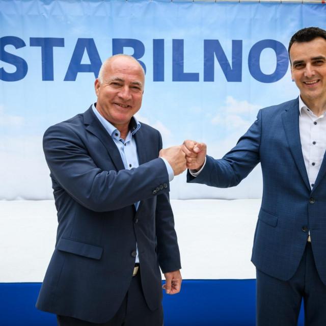 Goran Pauk i Paško Rakić.<br />