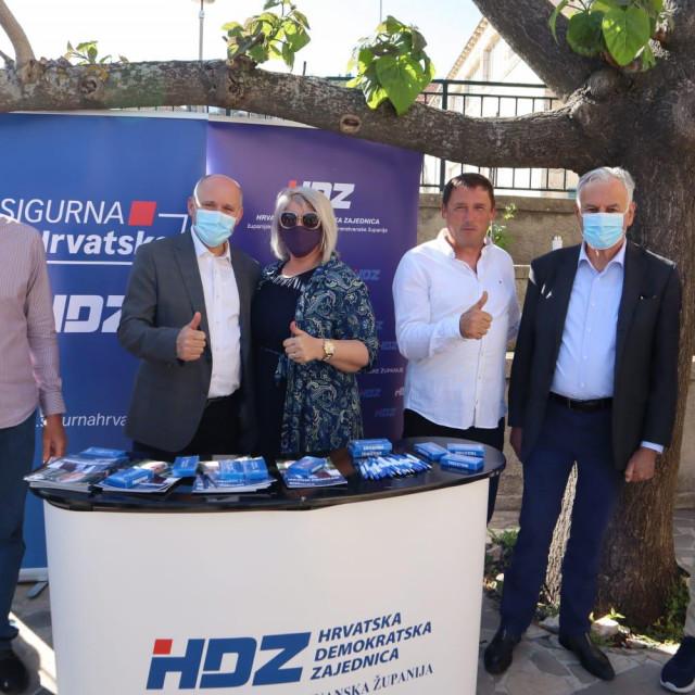 HDZ-ovi kandidati na Pelješcu i Korčuli