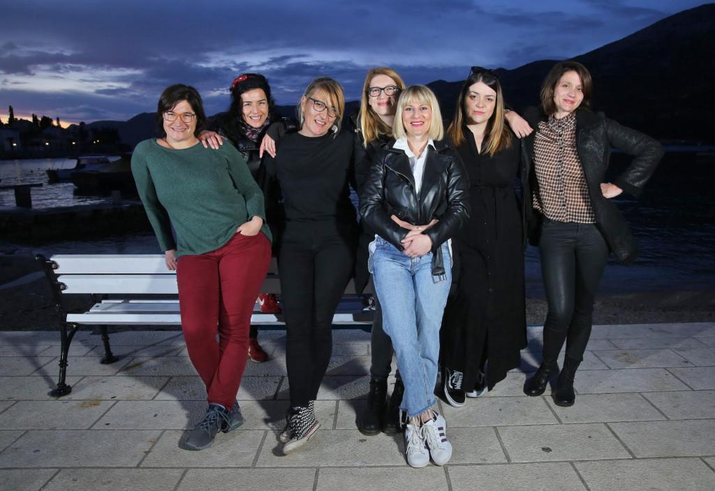 Vinka Lozica, Vanda Ivelja, Igra Sain Kovačević, Katarina Slejko, Gordana Superak, Dora Lozica i Nika Silić