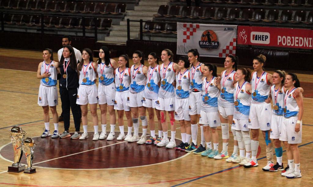 Trenutak za povijest - Ženski košarkaški klub Ragusa prvak Hrvatske