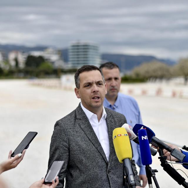 Ante Franić na Žnjanu