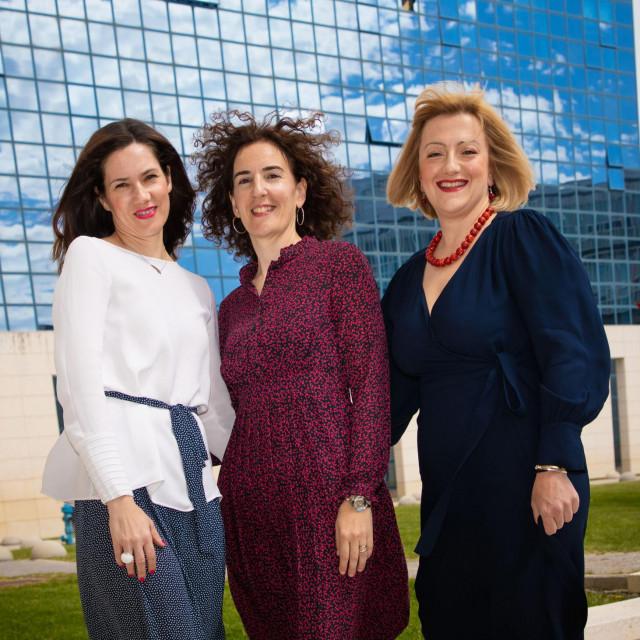 Na fotografiji: Ivana Bulog, Sandra Pepur, Ana Rimac Smiljanić