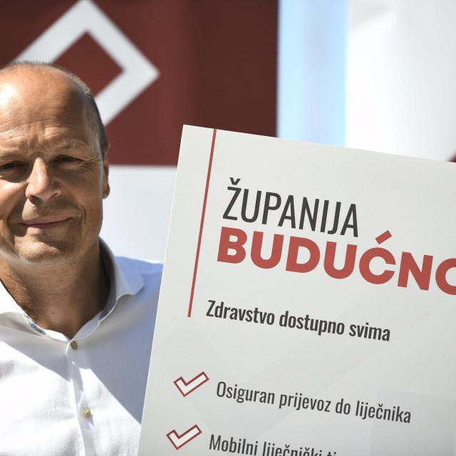 Joško Šupe, SDP-ov kandidat za župana, predstavio je program