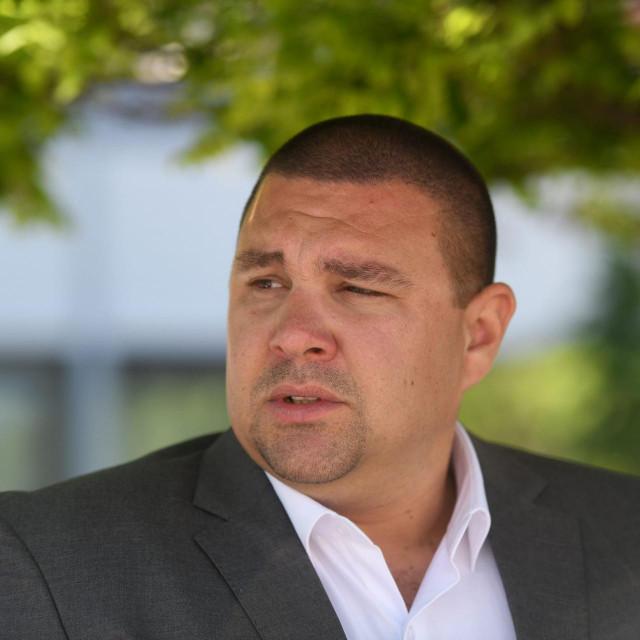 Na fotografiji: Frane Vucetic, predsjednik ugruge Vir bez podjela.<br />