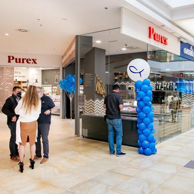 Purex & Ribarnica Brač otvorili su nove prodavaonice u prizemlju trgovačkog centra Mall of Split